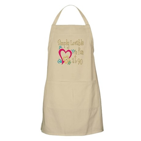 Lovable 90th BBQ Apron