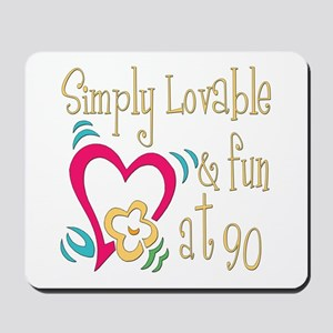 Lovable 90th Mousepad