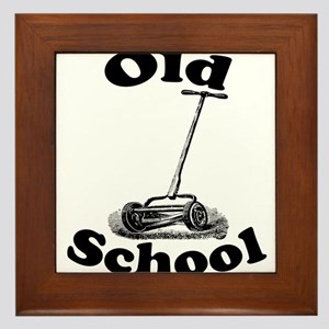 Push Mower (Old School) Framed Tile