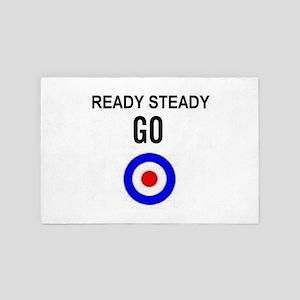Ready Steady Go 4' x 6' Rug