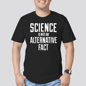 Science Is Not An Alte Men's Fitted T-Shirt (dark)