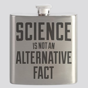 Science Is Not An Alternative Fact Flask