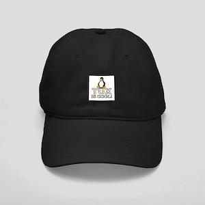 Tux Is Cool! Black Cap