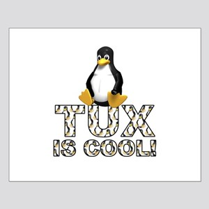 Tux Is Cool! Small Poster