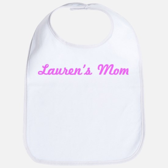 Lauren Mom (pink) Bib