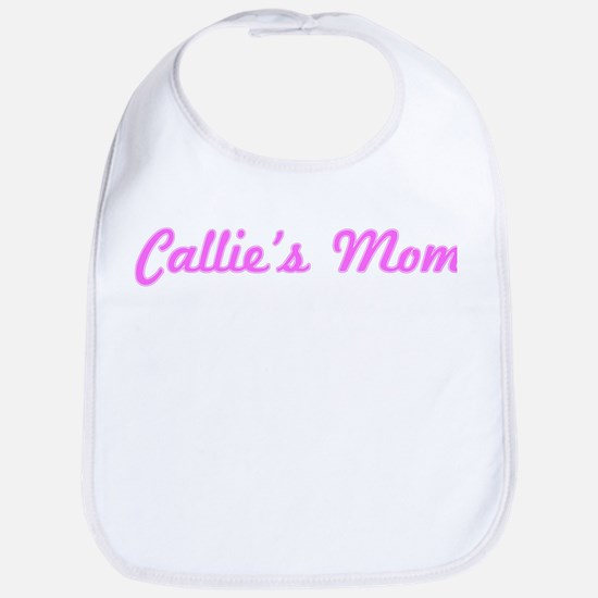 Callie Mom (pink) Bib