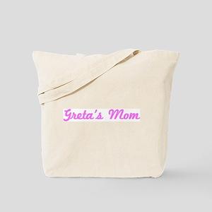 Greta Mom (pink) Tote Bag