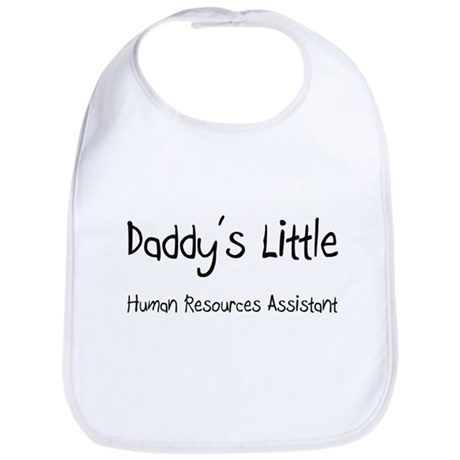 Daddy's Little Human Resources Assistant Bib