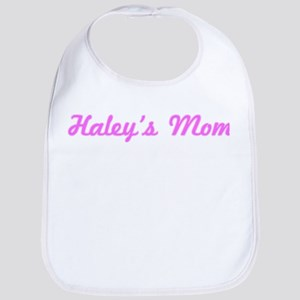 Haley Mom (pink) Bib
