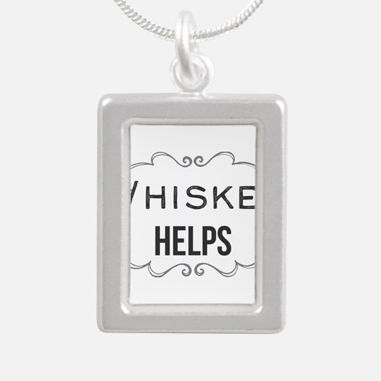 Whiskey Helps Necklaces