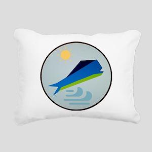 Oh mahi! Rectangular Canvas Pillow