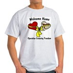 OEF Welcome Home Ash Grey T-Shirt