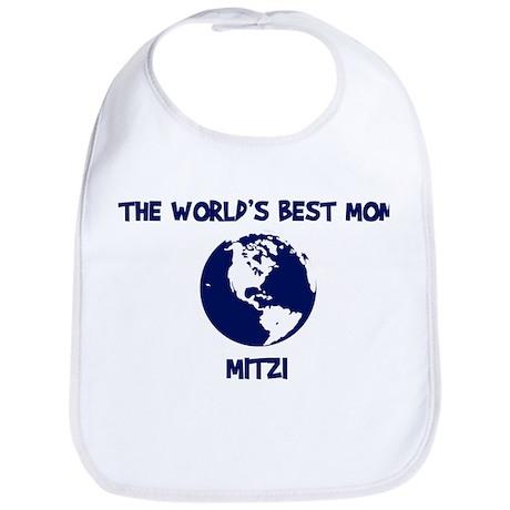 MITZI - Worlds Best Mom Bib