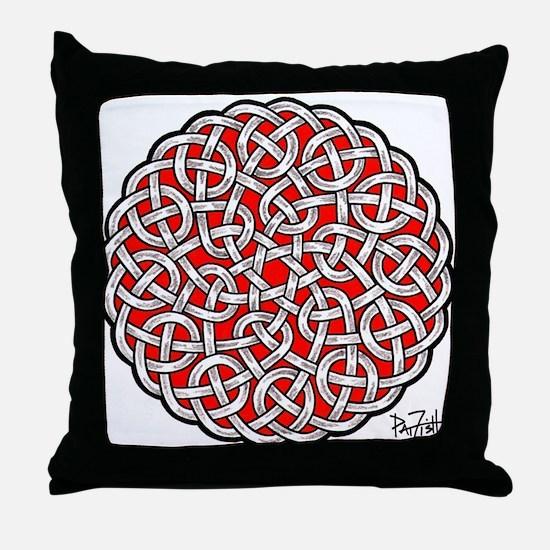 Solomon's Knot Throw Pillow