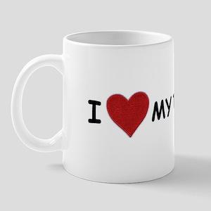I LOVE MY TETHER Mug