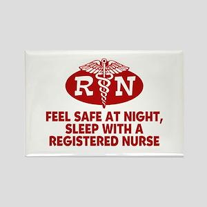 Feel Safe at Night Sleep with a Nurse Rectangle Ma