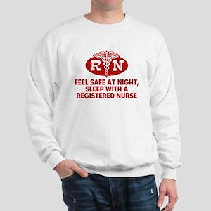 Feel Safe at Night Sleep with a Nurse Sweatshirt