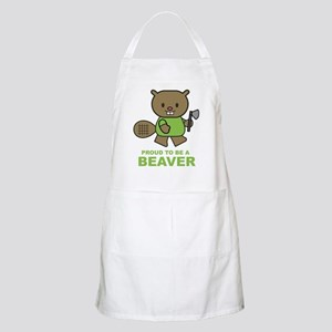Proud To Be A Beaver BBQ Apron