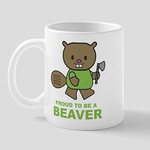 Proud To Be A Beaver Mug