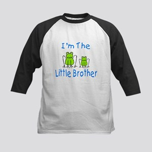 I'm The Little Brother - Frog Kids Baseball Jersey