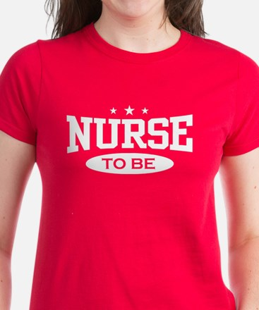 Nurse To Be Women's Dark T-Shirt