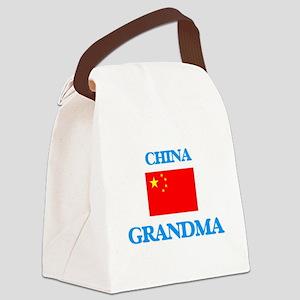 China Grandma Canvas Lunch Bag