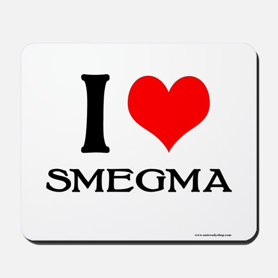 White Smegma Mousepad