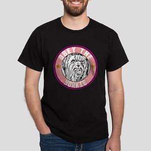 Obey The Yorkie Dark T-Shirt
