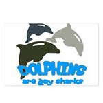 Dolphins Postcards (Package of 8)