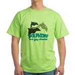 Dolphins Green T-Shirt