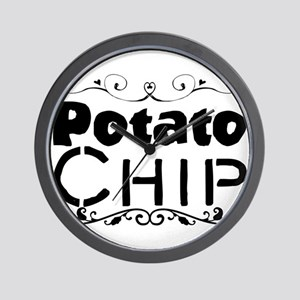 Potato Chip Wall Clock