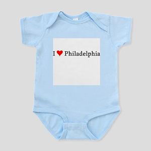 I Love Philadelphia Infant Creeper