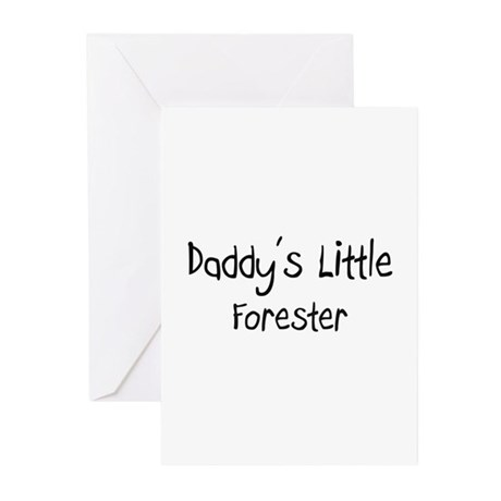 Daddy's Little Forester Greeting Cards (Pk of 10)