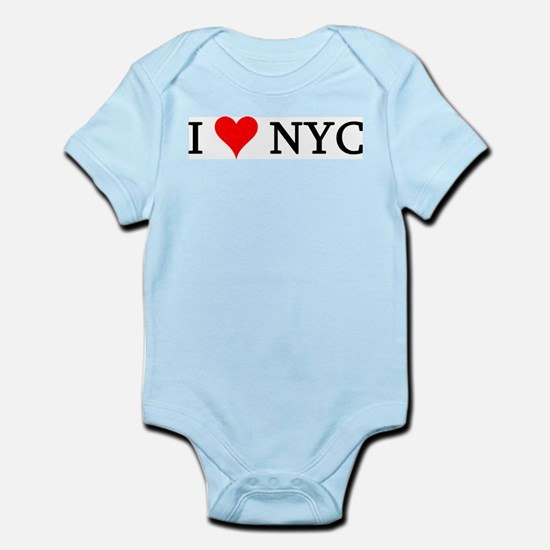 I Love NYC Infant Creeper