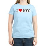I Love NYC Women's Pink T-Shirt