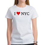 I Love NYC Women's T-Shirt