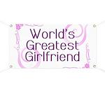 World's Greatest Girlfriend Banner