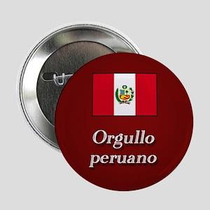 """""""Orgullo peruano"""" 2.25"""" Button"""