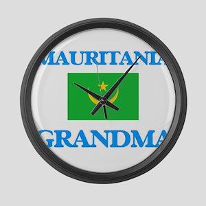 Mauritania Grandma Large Wall Clock