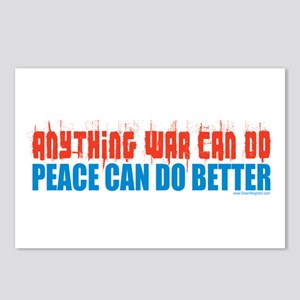 Peace, Anti-War Postcards (Package of 8)