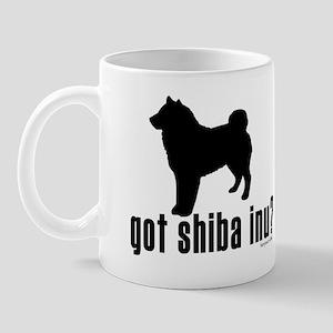 got shiba inu? Mug