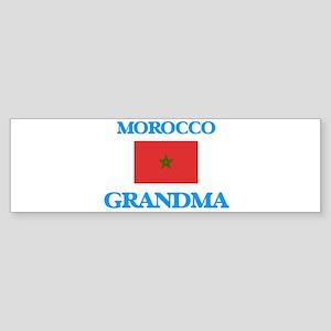 Morocco Grandma Bumper Sticker