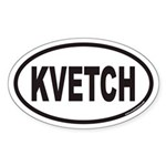 KVETCH Euro Oval Sticker