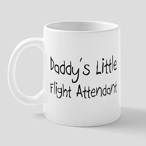 Daddy's Little Flight Attendant Mug