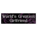 World's Greatest Girlfriend Bumper Sticker (10 pk)