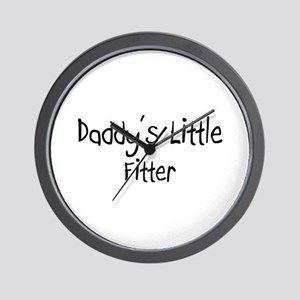 Daddy's Little Fitter Wall Clock