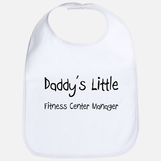 Daddy's Little Fitness Center Manager Bib