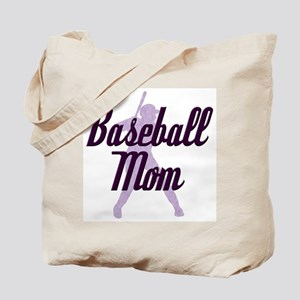 Baseball Mom Tote Bag
