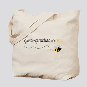 great grandma to be t-shirt Tote Bag