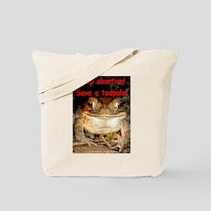 Save a tadpole Tote Bag